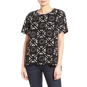 Madewell Button Back Batik Shirt